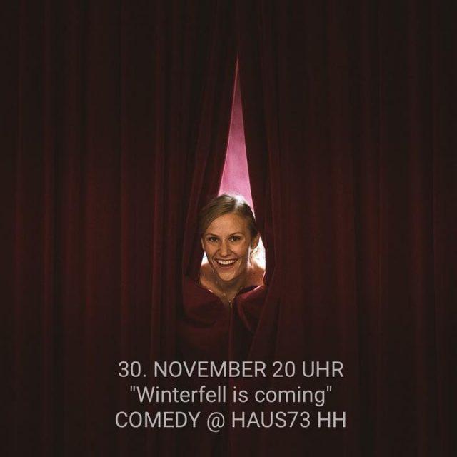 My next comedyshow is coming up standupfortheladies  Haus73 hamburghellip