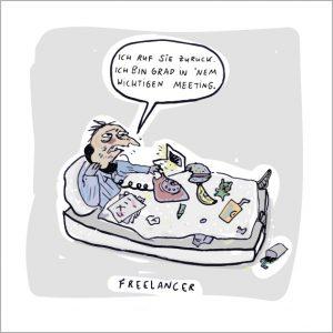 INGRID WENZEL CARTOON FREELANCER