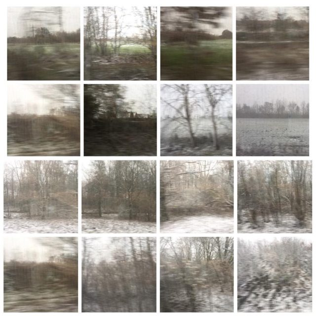 winterwonderland bahnfahren zugfenster gerhardrichter winter photography collage landscape nature germanyhellip