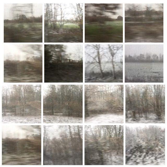 winterwonderland bahnfahren zugfenster gerhardrichter winter photography collage landscape nature germanyhellip