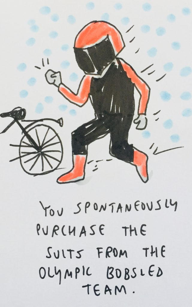buying bobsled suit