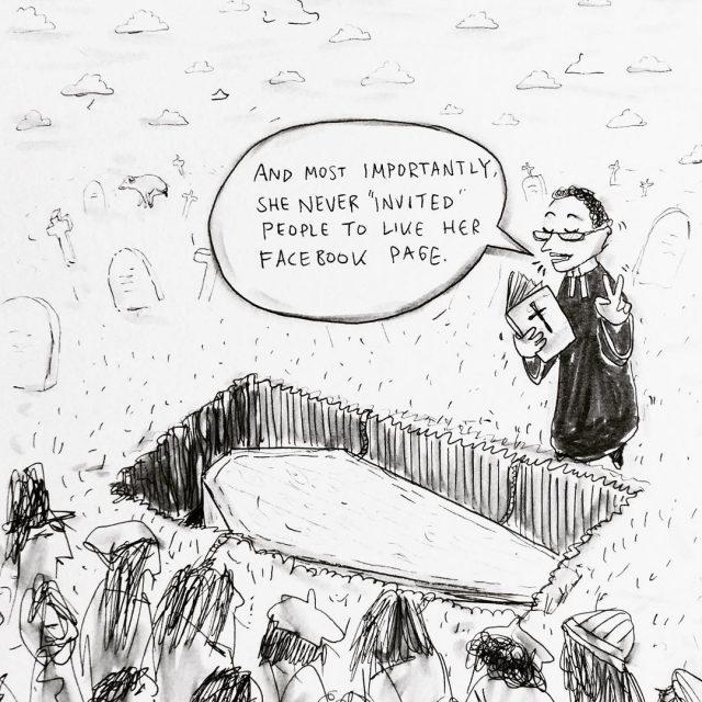 howiwanttoberemembered cartoon comedians drawingoftheday facebook marketing business socialmedia humor artistsoninstagramhellip